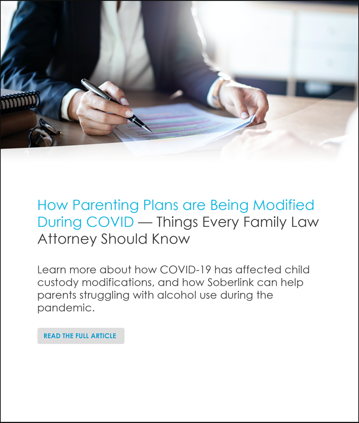 How Parenting Plans are Being Modified During Covid